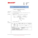 Sharp AR-C260P (serv.man27) Technical Bulletin