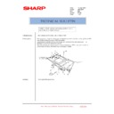 Sharp AR-C260P (serv.man29) Technical Bulletin