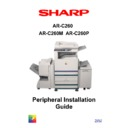 Sharp AR-C260P (serv.man3) Handy Guide