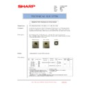 Sharp AR-C260P (serv.man31) Technical Bulletin