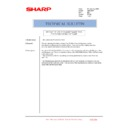 Sharp AR-C260P (serv.man32) Technical Bulletin