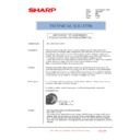 Sharp AR-C260P (serv.man34) Technical Bulletin
