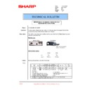Sharp AR-C260P (serv.man35) Technical Bulletin