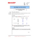 Sharp AR-C260P (serv.man37) Technical Bulletin
