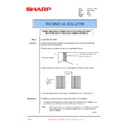 Sharp AR-C260P (serv.man38) Technical Bulletin