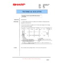 Sharp AR-F201 (serv.man13) Technical Bulletin