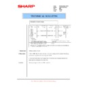 Sharp AR-F201 (serv.man16) Technical Bulletin