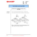 Sharp AR-F201 (serv.man18) Technical Bulletin