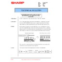 Sharp AR-F201 (serv.man19) Technical Bulletin