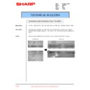 Sharp AR-F201 (serv.man20) Technical Bulletin