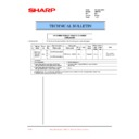 Sharp AR-F201 (serv.man22) Technical Bulletin
