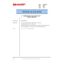 Sharp AR-F201 (serv.man29) Technical Bulletin