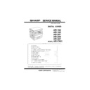 Sharp AR-F201 (serv.man3) Service Manual