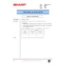 Sharp AR-F201 (serv.man34) Technical Bulletin