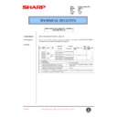 Sharp AR-F201 (serv.man39) Technical Bulletin
