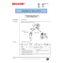 Sharp AR-F201 (serv.man40) Technical Bulletin
