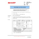 Sharp AR-F201 (serv.man6) Technical Bulletin