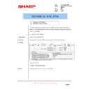 Sharp AR-F201 (serv.man8) Technical Bulletin