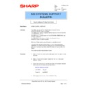 Sharp AR-FR2 (serv.man3) Technical Bulletin
