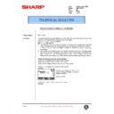 Sharp AR-FR2 (serv.man4) Technical Bulletin