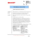Sharp AR-FR21U (serv.man9) Technical Bulletin