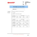 Sharp AR-FR22U (serv.man6) Technical Bulletin