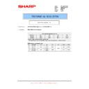 Sharp AR-FR24U (serv.man5) Technical Bulletin