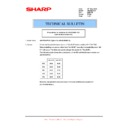Sharp AR-FR25U (serv.man3) Technical Bulletin