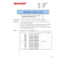 Sharp AR-FX7 (serv.man17) Technical Bulletin