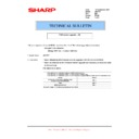 Sharp AR-FX7 (serv.man19) Technical Bulletin