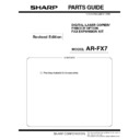 Sharp AR-FX7 (serv.man2) Parts Guide