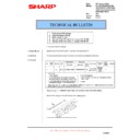 Sharp AR-FX7 (serv.man20) Technical Bulletin