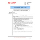 Sharp AR-FX7 (serv.man21) Technical Bulletin