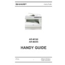 Sharp AR-M160 (serv.man12) Handy Guide
