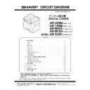 Sharp AR-M160 (serv.man15) Service Manual