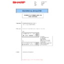 Sharp AR-M160 (serv.man34) Technical Bulletin