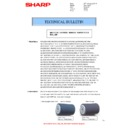 Sharp AR-M160 (serv.man36) Technical Bulletin