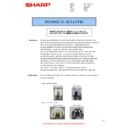 Sharp AR-M160 (serv.man37) Technical Bulletin