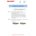 Sharp AR-M160 (serv.man38) Technical Bulletin