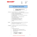 Sharp AR-M160 (serv.man40) Technical Bulletin