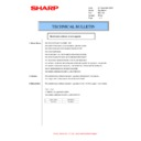 Sharp AR-M160 (serv.man41) Technical Bulletin