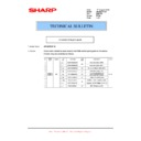 Sharp AR-M160 (serv.man42) Technical Bulletin