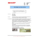 Sharp AR-M160 (serv.man54) Technical Bulletin