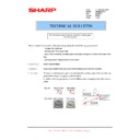 Sharp AR-M160 (serv.man55) Technical Bulletin