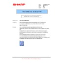 Sharp AR-M160 (serv.man58) Technical Bulletin