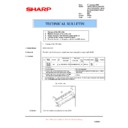 Sharp AR-M160 (serv.man60) Technical Bulletin