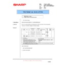 Sharp AR-M160 (serv.man61) Technical Bulletin
