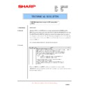 Sharp AR-M160 (serv.man69) Technical Bulletin