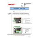 Sharp AR-M160 (serv.man71) Technical Bulletin