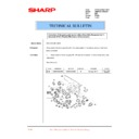 Sharp AR-M160 (serv.man73) Technical Bulletin